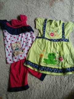 Dress n set baby
