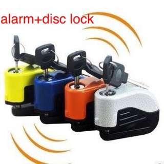 motorcycle/bicycle anti thief alarm Lock