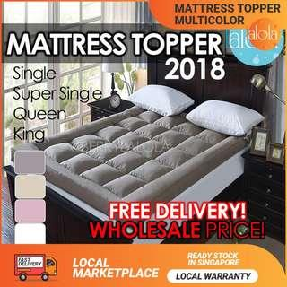 ✔FREE DELIVERY: MATTRESS TOPPER 10 CM  / MATTRESS PROTECTOR