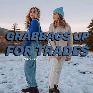 GRABBAGS UP FOR TRADES !!