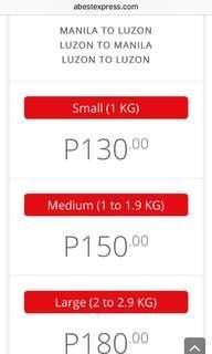 Abest Shipping fee