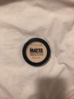 Maybelline matte maker setting powder