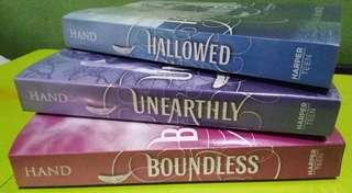 Unearthly Trilogy by Cynthia Hand
