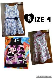 (Size 4) Dress