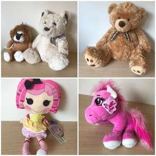 *NEW* Lalaloopsy Pony Tails Teddies stuffed toy
