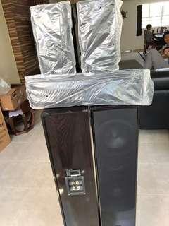 Floor standing speakers for home theatre