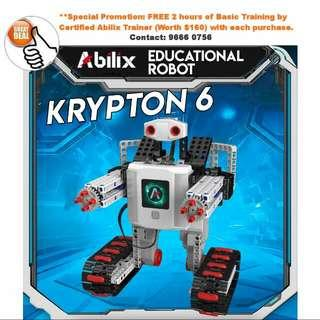 Educational, Competition Ready Krypton Robot