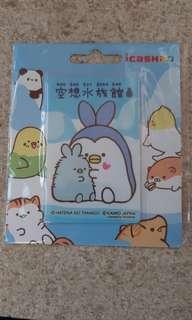 全新空想水族館-兔兔企鵝icash2.0已預儲200元只售260元