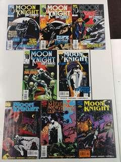 Moon Knight (1998 1st and 2nd Mini Series) Comics Set