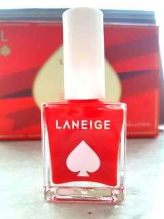 Laneige Lucky Holiday Nail Polish Red