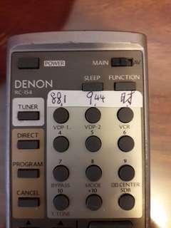 DENON收音機遙控
