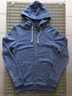 H&M 💯% Authentic light blue hoodie (size XS) for SGD$22