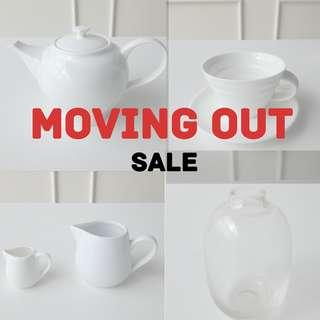 CAFE MOVING OUT SALE