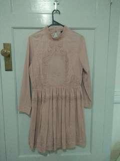 Asos brand pink dress