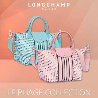 🚚 |  LONGCHAMP  |  LE PLIAGE PASTEL  |  1512 & 1515  |  S & M Size Handbags