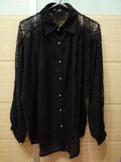 黑色喱士衫