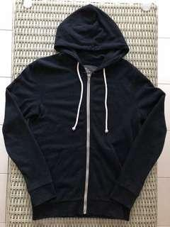 H&M 💯% Authentic navy blue hoodie (size XS) for SGD$22