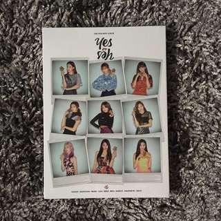 [SEALED] Twice Yes or Yes Album (B Ver.) + Poster