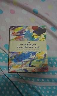 """""""watercolor sketchbook kit"""""""