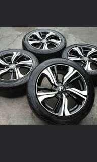 Rims and tryes