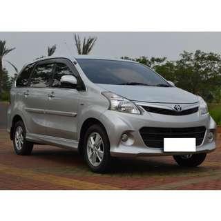 Toyota Avanza Veloz Luxury 1.5 Automatic 2014 Full Orisinil Istimewa