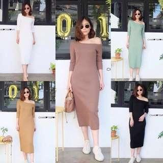 [BEST SELLING] [PO] Irony Toga Basic Maxi Dress