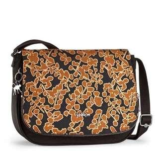 Kipling Earthbeat M Floral Metallic Bag