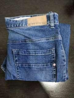 Terranova Blue Denim Colour Long Jeans Mens (size 30)