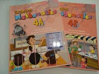 Math P4 text book 4A & 4B