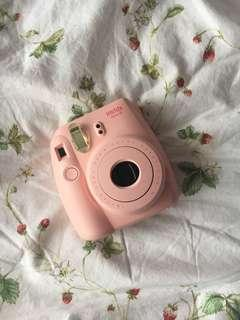 MEET UPS ONLY ⭐ INSTAX 8 PINK + CLEAR CASE