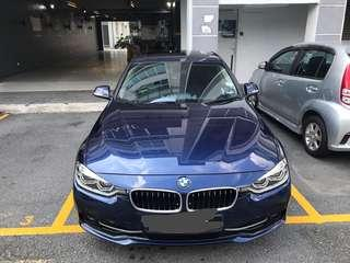 BMW 330e with 3 Years FREE maintenance and warranty