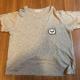 pull & bear patch tee