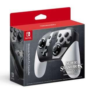 Nintendo Switch Pro Controller Super Smash Bros Ultimate Edition