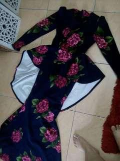 Longdress duyung flower