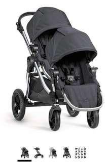 Preloved City jogger double stroller