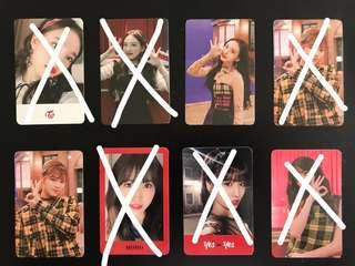 [WTS] TWICE Yes or Yes Photocards