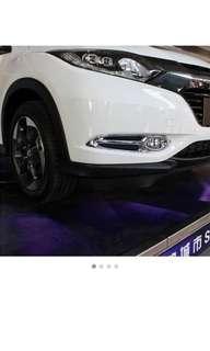 Honda hrv vezel 2014 to 2018 fog light chrome decor ready stock