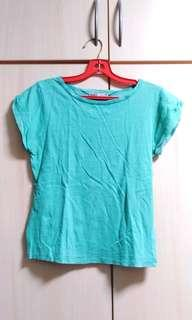 Turquoise top / t-shirt