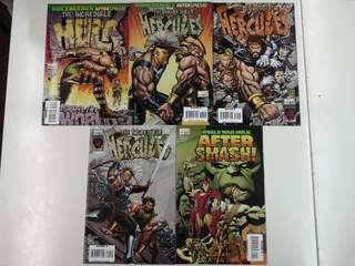 Incredible Hercules Against the World (2008 Marvel) Comics Set