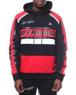 Team Ohb Crimson Hoodie  by Black Pyramid