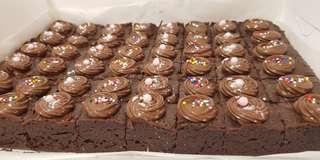 Nutella Brownies 48pcs MiniBites