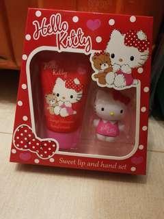 Hello Kitty Sweet lip and hand set