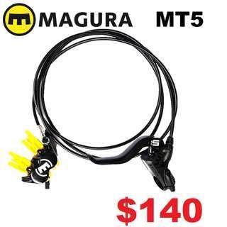 Magura MT5 4-Piston Hydraulic Disc Brake (One Side Only)---------(MT 1893 MT Trail SPORT CARBON MT8 MT7 MT5e MT5 MT4 MT2 M9120 M8020 M8000 M7000 M315 TITANIUM NUT SCREW BOLT)
