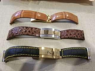 Custom Leather Strap for Rolex