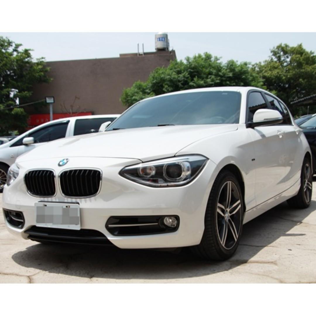 2013 BMW 118i 1.6 白