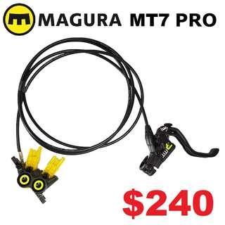 MAGURA MT7 PRO HC 2019 Disc Brake One Side Only----------(MT 1893 MT Trail SPORT CARBON MT8 MT7 MT5e MT5 MT4 MT2 M9120 M8020 M8000 M7000 M315 TITANIUM NUT SCREW BOLT)