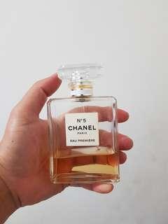 Parfum original preloved Chanel no.5 eau premiere
