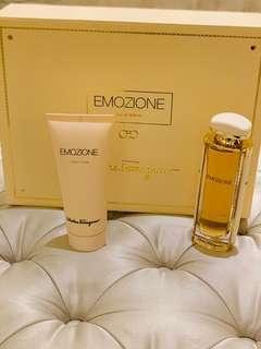 Salvatore Ferragamo Emozione Gift Box 50ml perfume +100ml body lotion