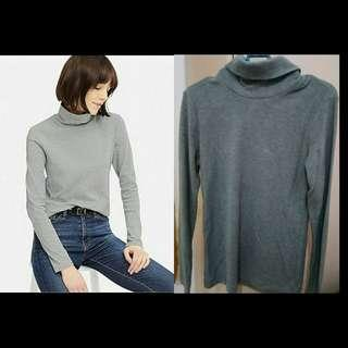 Uniqlo Grey Turtleneck