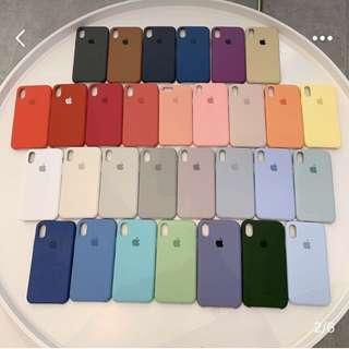🚚 PO iPhone 6/6p/7/7p/8/8p/X/XR/XS/MAX Silicone Cover